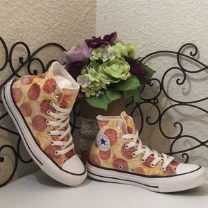 CONVERSE ALL⭐️STAR Pepperoni🍕Pizza High Tops